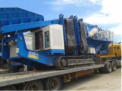 Two new-style mobile crushing plants are successfully used in Solomon
