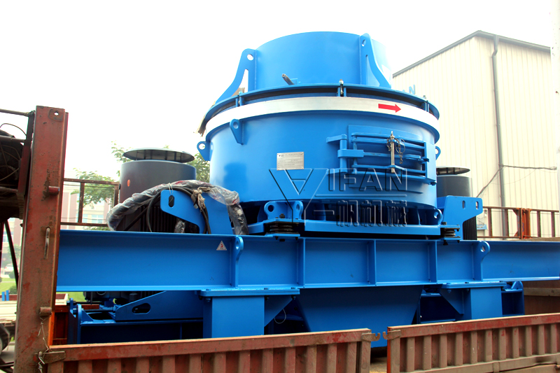YIFAN New VC Sand Making Machine is beginning to face the world