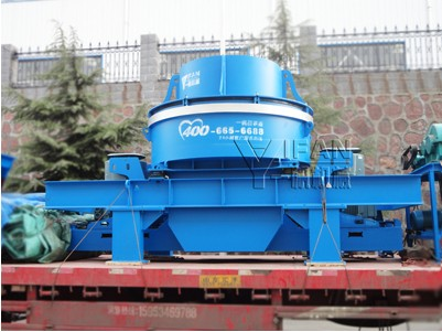 VI5000 vertical shaft impact crusher is on the way to Guangdong Province, China