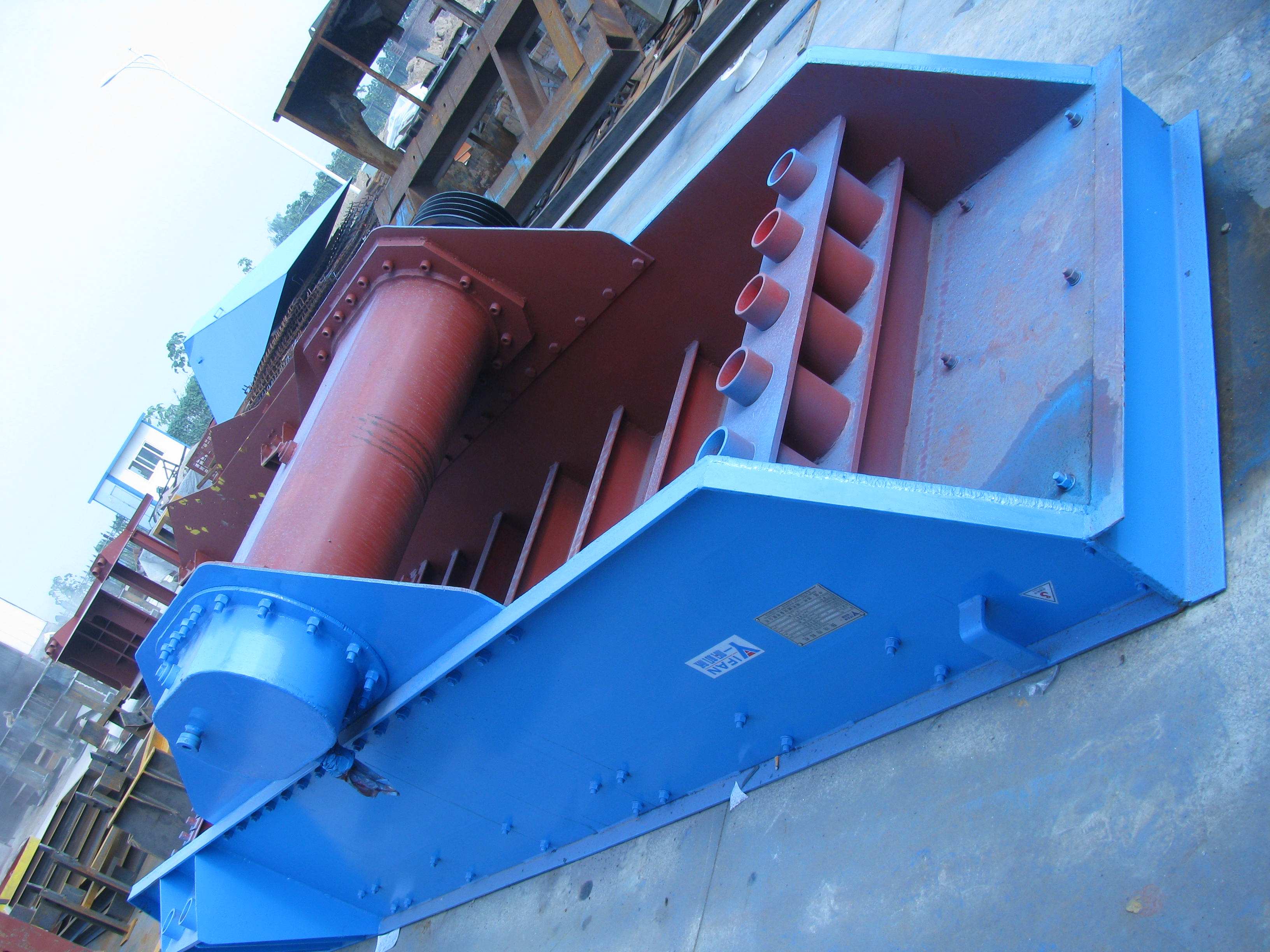 ZSW Series Grizzly Vibrating Feeders
