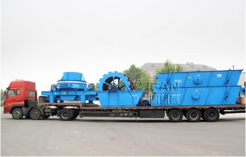 YIFAN Sand Maker, Sand Washer and Vibrating Screen are on the Way to Yunnan