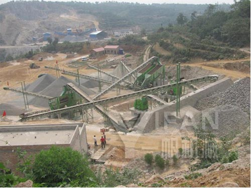 400-450t/h Limestone Crushing Plant in China