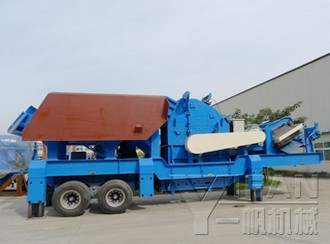 Mobile Rock Crusher,Mobile Jaw Crusher