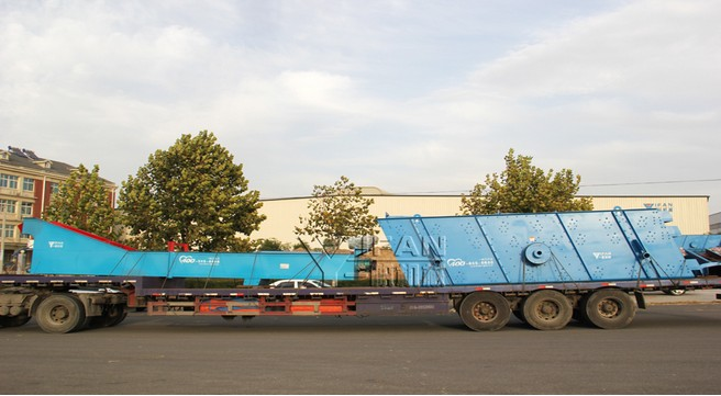 YIFAN Sand Washing Production Line Was Delivered to Jiangyin, Jiangsu