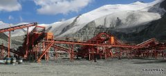 300t/h mobile iron ore crushing and screening production line in Sinkiang